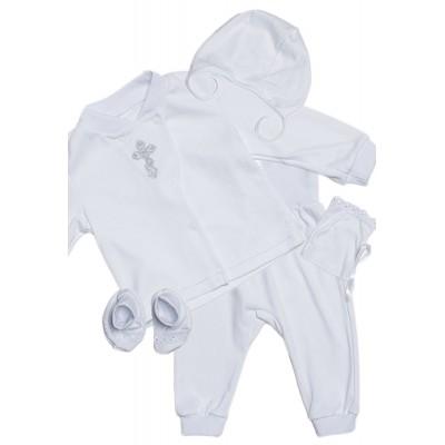 Крестильный набор для новорожденных малышей от 2-х до 9-ти месяцев
