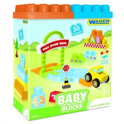 """Конструктор """"Baby Blocks"""" Мои первые кубики - 30 шт Wader"""