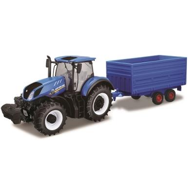 Автомодель Bburago Трактор New Holland серии Farm 18-44067