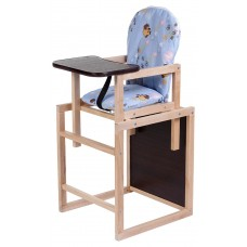 Стульчик-трансформер Babyroom Карапуз-100 eko голубой (винни пух)