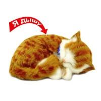 Интерактивный дышащий котенок