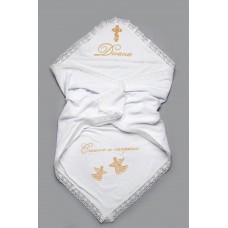 Именная крыжма для крещения(имя,дата ангелочки, спаси и сохрани)