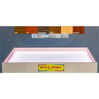 Светодиодный планшет/стол мини белый 500х330х80 мм